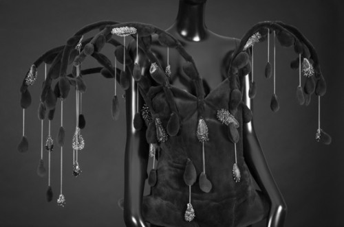 International Centre for Lace and,sensations,onauratoutvu Fashion,couture ,haute couture designers, exhibition,Iris van Herpen ,on aura tout vu ,yassen samouilov, livia stoianova,couture dres,Lydia Kamitsis