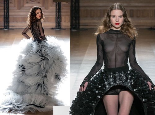 swisstulle, on aura tout vu, oatv, paris, collaboration, mode, tulle, perpetual motion, 2016, fashion week, show, livia et yassen